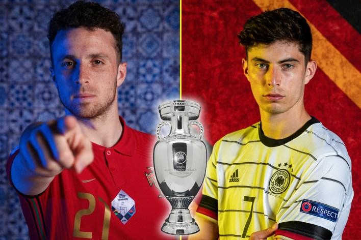 Portekiz ve Almanya bu hafta sonu EURO 2020'de dev F Grubu maçında karşı karşıya geliyor