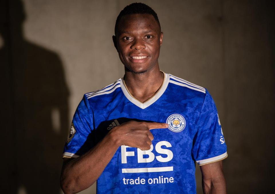 New £ 23million striker Patson Daka could join Jamie Vardy up front