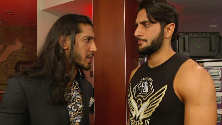 Mansoor ve Mustafa Ali son zamanlarda RAW'da birlikteler.