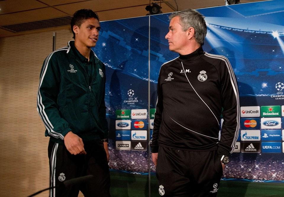 Mourinho trusted Varane as a teenager