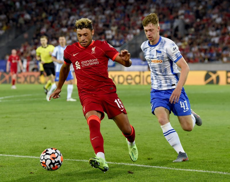 Oxlade-Chamberlain may struggle to force his way in the Liverpool team this season