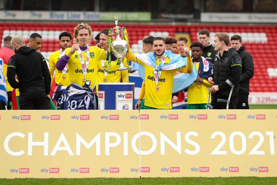 Cantwell played a pivotal role in Norwich's Championship triumph last season