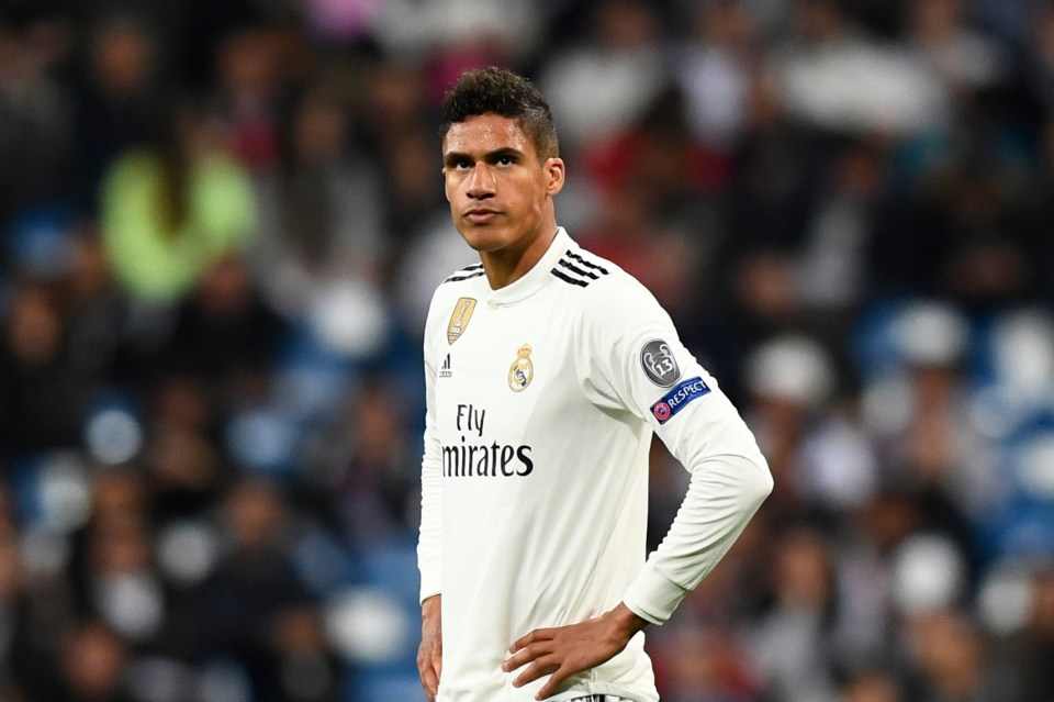 Man United signed Varane a decade after Real Madrid beat them on signing