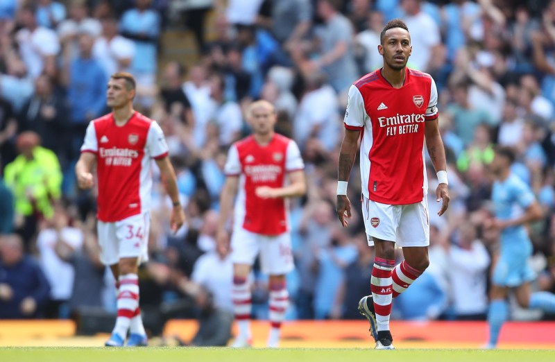 Arsenal are in danger of being plunged into Premier League mediocrity