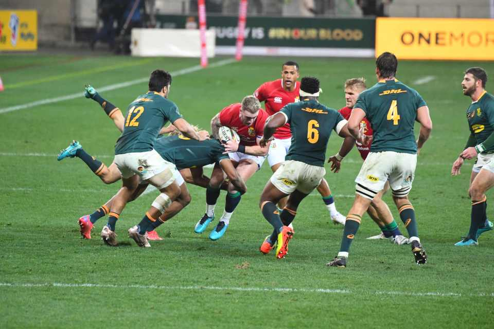 The clash in Cape Town was intensely physical from the first whistle