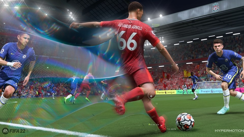 Hypermotion is one of the novelties of FIFA 22