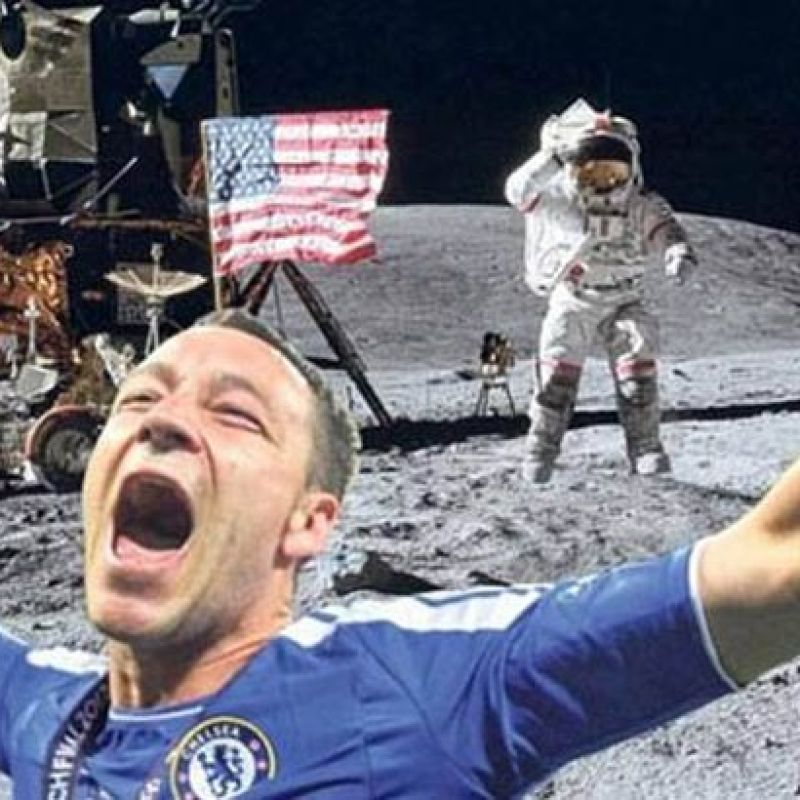 Memes of Terry celebrations have been doing the rounds for years
