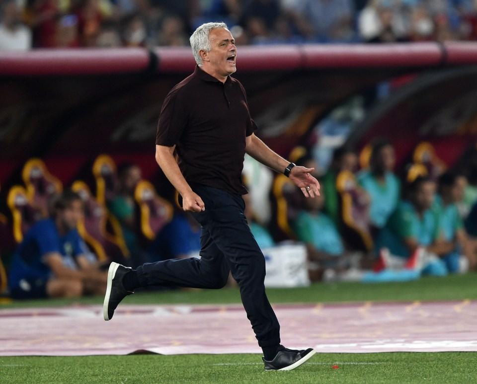 Mourinho has been in great shape in the Italian capital