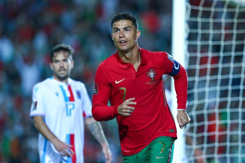 Ronaldo broke more records on the international stage this week