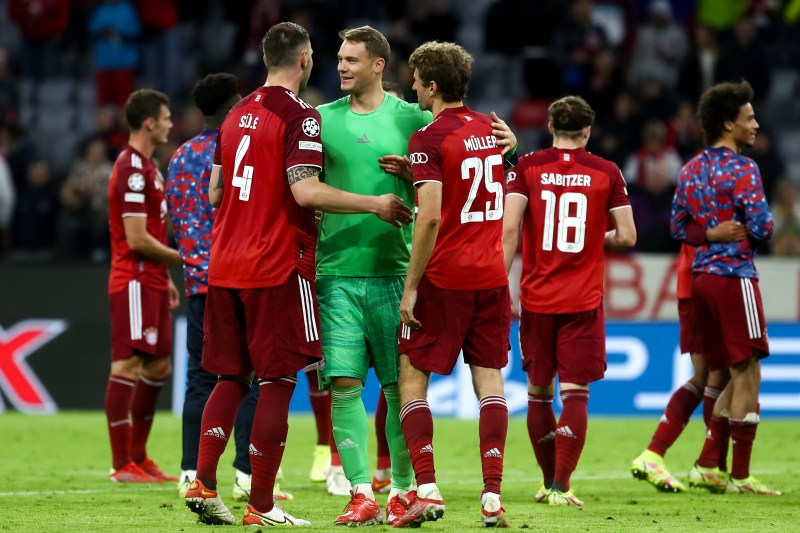 Bayern's Neuer would be a popular vote