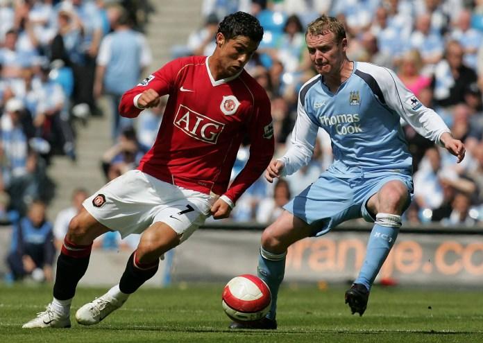 Ronaldo costumava aterrorizar os defensores do City antigamente