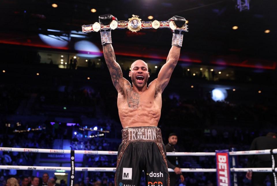 Williamson is now British champion