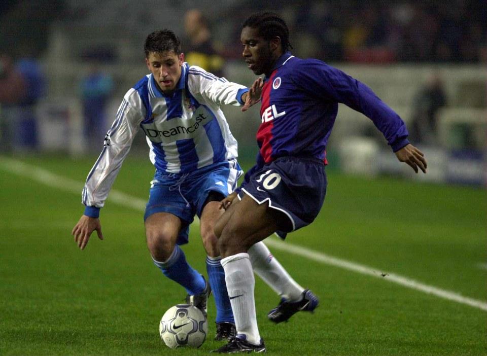 Okocha was a star at PSG