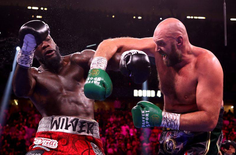 Fury KO'd Wilder to retain his heavyweight title
