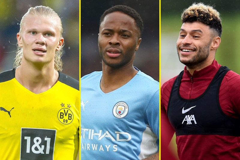 Haaland is good friends with new Manchester United signing Jadon Sancho