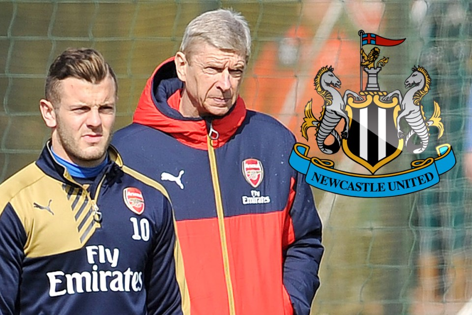 Wilshere and Wenger at Newcastle seem unlikely but never say never in football