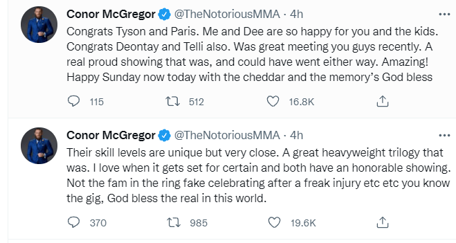 McGregor has never been one to keep his thoughts to himself