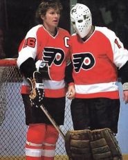 Bobby Clarke and Bernie Parent