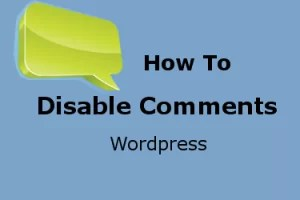 How to Disable Comments on WordPress Posts
