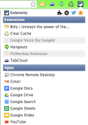 extensity for Chrome