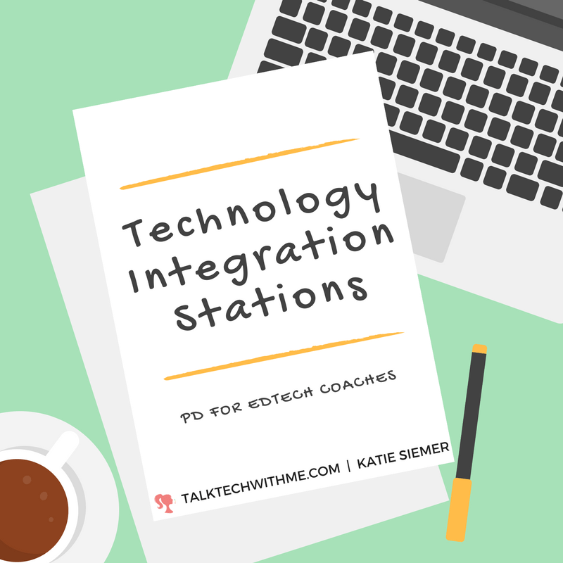 Technology Integration Stations: PD for EdTech Coaches