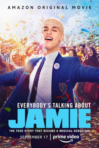 EVERYBODY'S TALKING ABOUT JAMIE poster from Amazon Prime Video