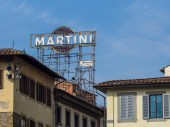 A very old Martini sign.