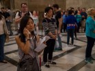 My wife was listening to the audio guide while I was photographing. She could explain to me later :D