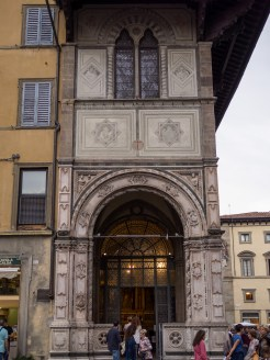 One of the oldest buildings in Florence.