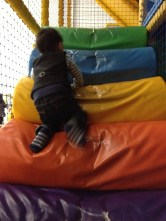 Ashton loves soft play!