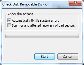 Fix Cyclic Redundancy Check error