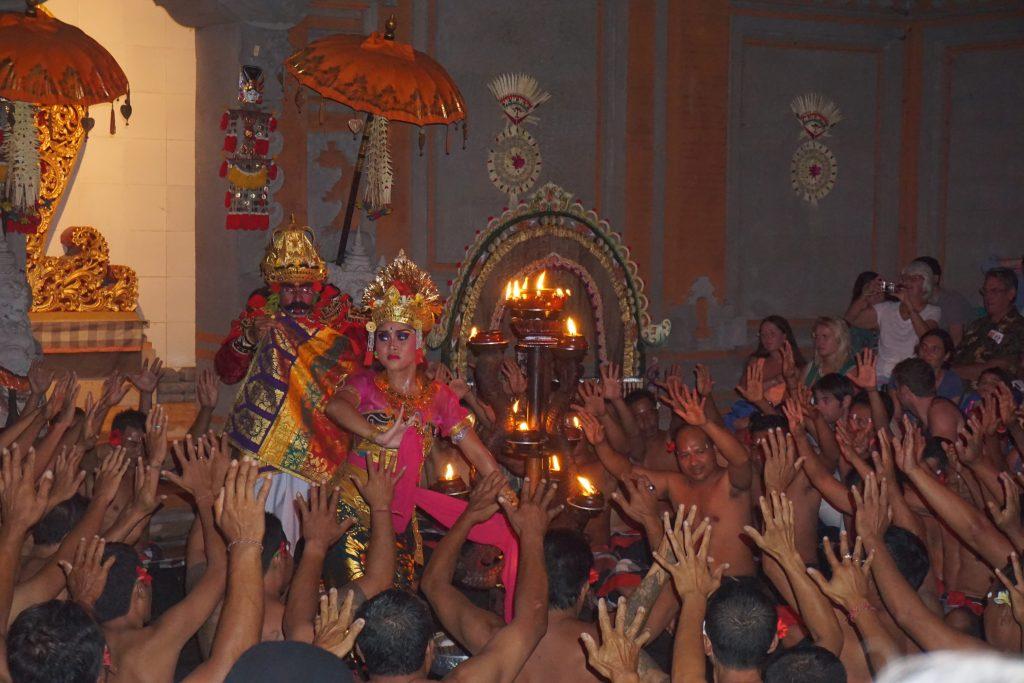 Kecak Fire Dance and Trance Ubud Bali