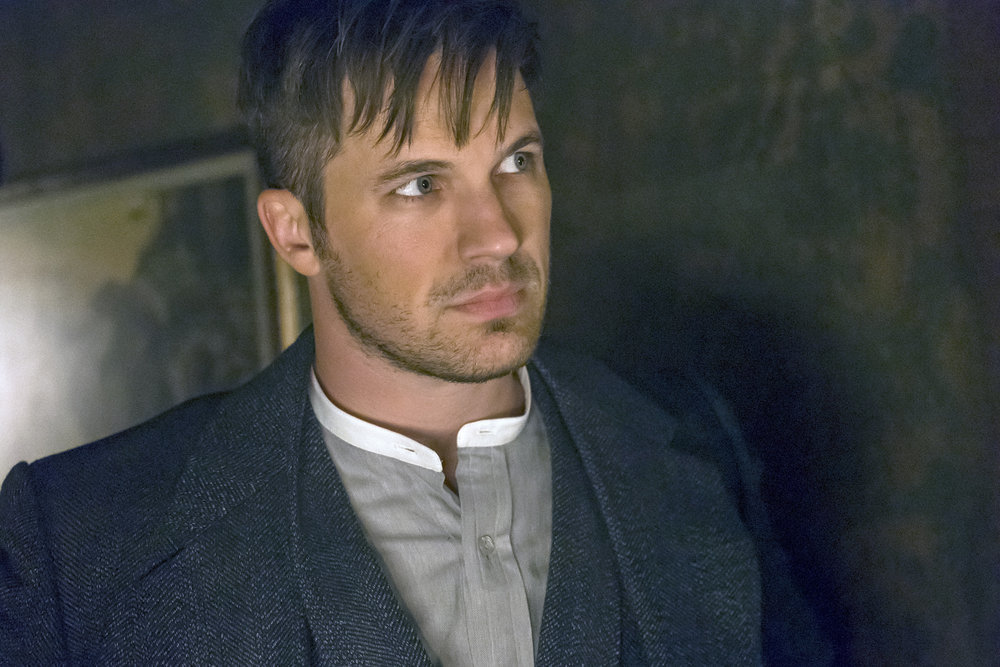 "TIMELESS -- ""A History of San Fran"" Episode 210 -- Pictured: Matt Lanter as Wyatt Logan -- (Photo by: Ron Batzdorff/NBC)"