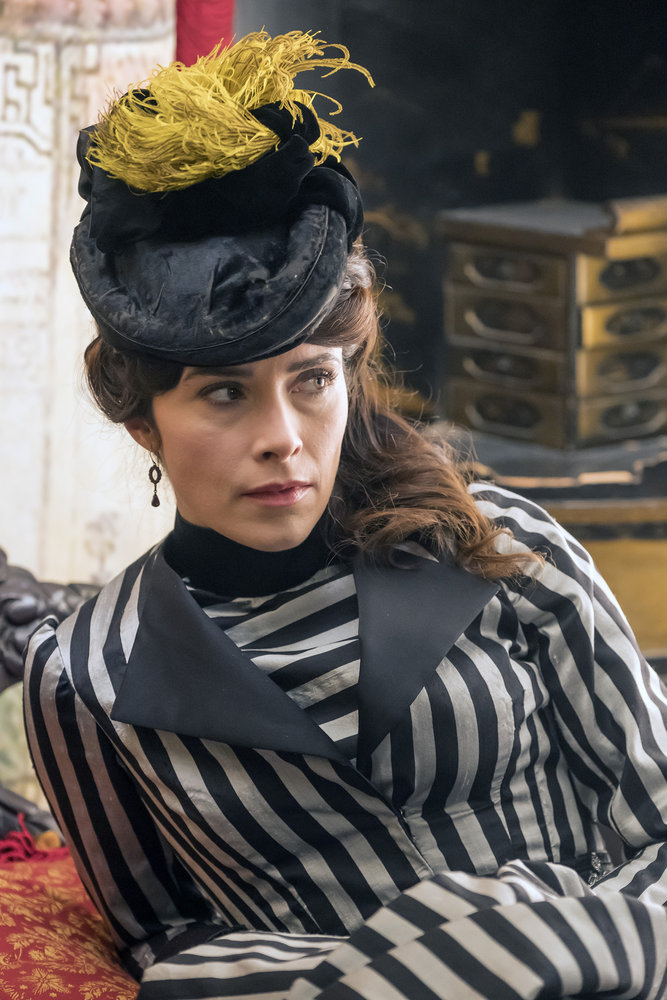 "TIMELESS -- ""A History of San Fran"" Episode 210 -- Pictured: Abigail Spencer as Lucy Preston -- (Photo by: Ron Batzdorff/NBC)"