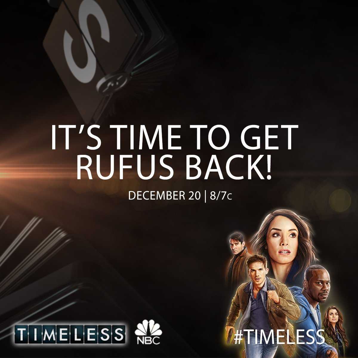 NBC Announces Air Date for 'Timeless' Movie Event Full of Christmas Spirit