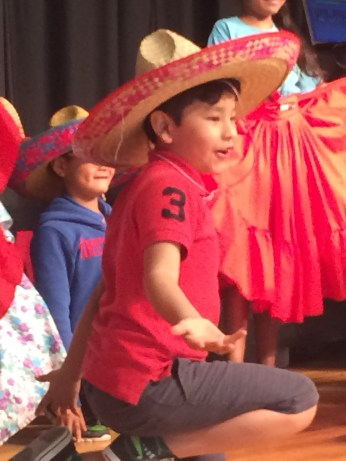 Second grader Daniel Vazquez enjoyed International Travelers Week.