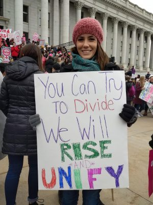 Standing up for equality