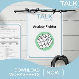 download mental health worksheet workbook anxiety depression uk click