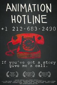 anime hotline poster