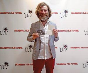 Corin with TFF award