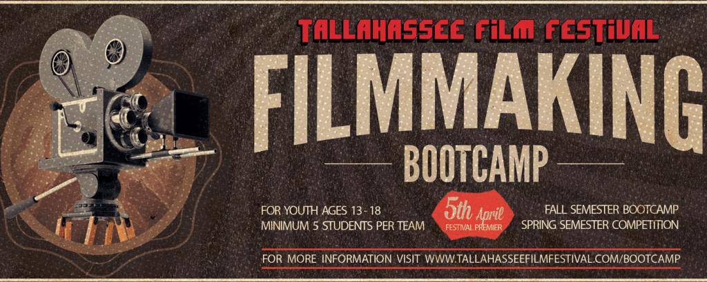 TFF Youth Filmmaking Bootcamp slider