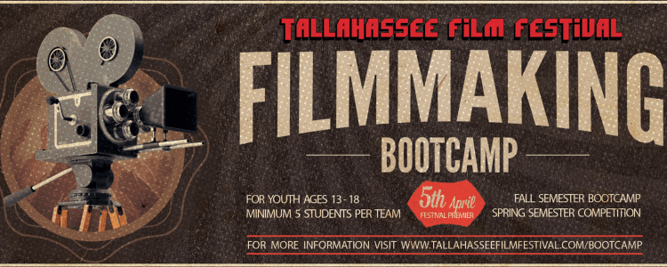 TFF Youth Filmmaking Bootcamp slider