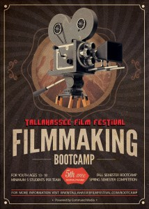 TFF Youth Filmmaking Bootcamp poster