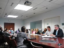 Jobs and Beautification Discussed at Target Issue Meeting