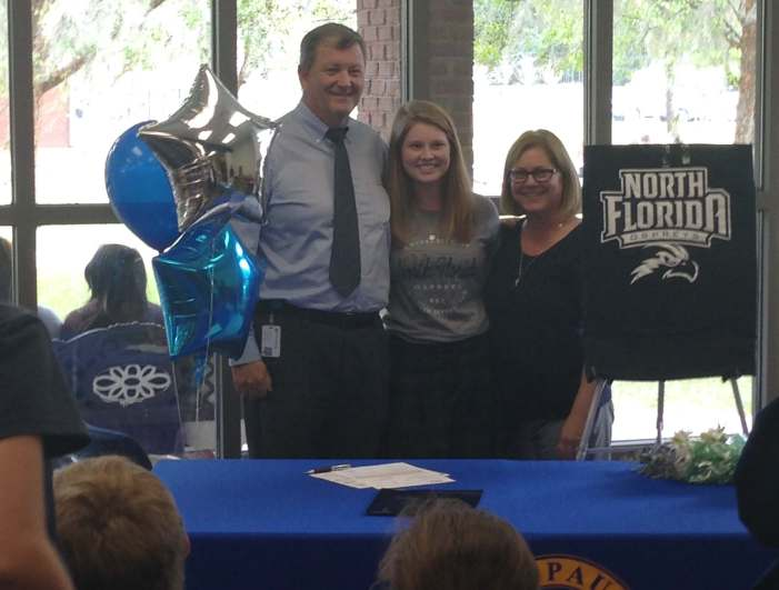 "Local JPII CHS Standout, Teresa Conroy, Stays ""On Par"" and Commits to University of North Florida"
