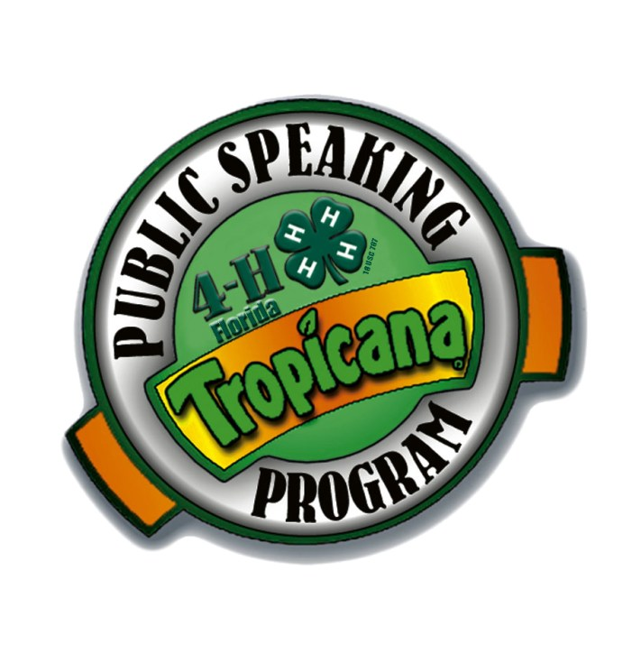 Local Students Compete in the 2016 4-H Tropicana Public Speaking Contest