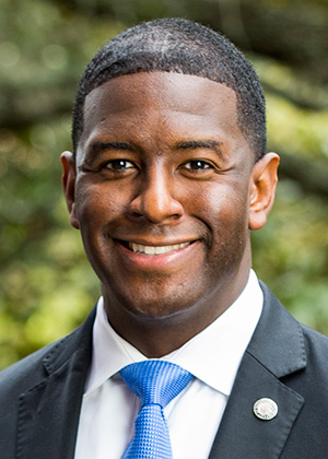 Candidate Gillum Speaks Against Energy Policies that Benefit the City of Tallahassee