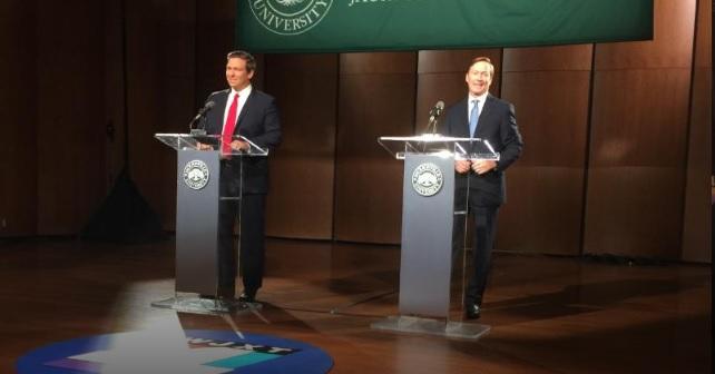 DeSantis, Putnam Use Final Debate to Lob Charges