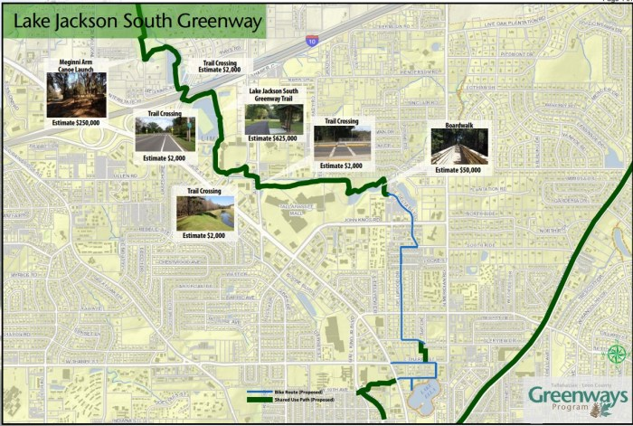 Blueprint Slated to Approve $900K for Lake Jackson Greenway Projects