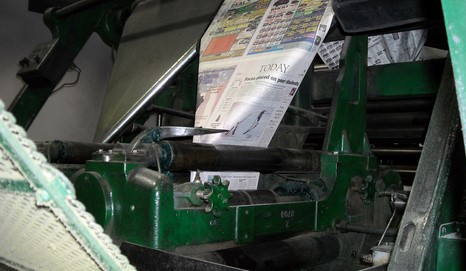 In the Arena:  Are Legacy Newspapers in Hospice?